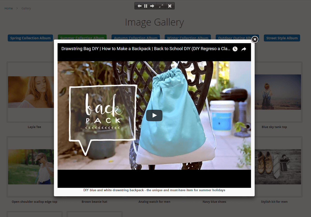 best magento 2 product image gallery extension that supports video