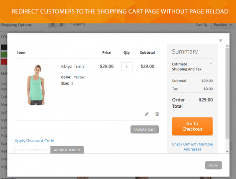 Magento 2 Ajax Add To Cart extension