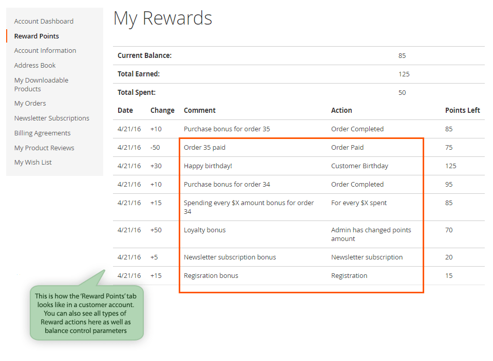 Amasty Magento 2 Reward Points Extension