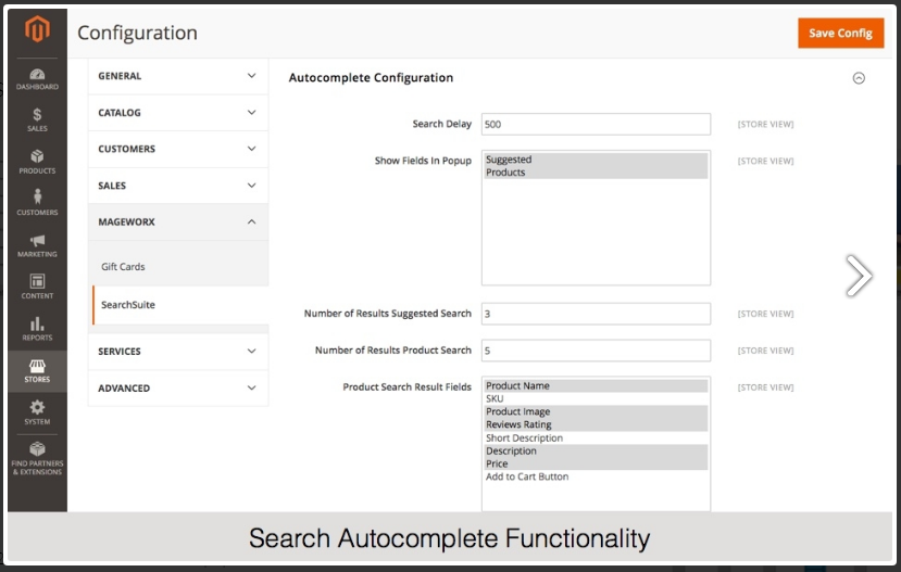 Auto-search-functionality
