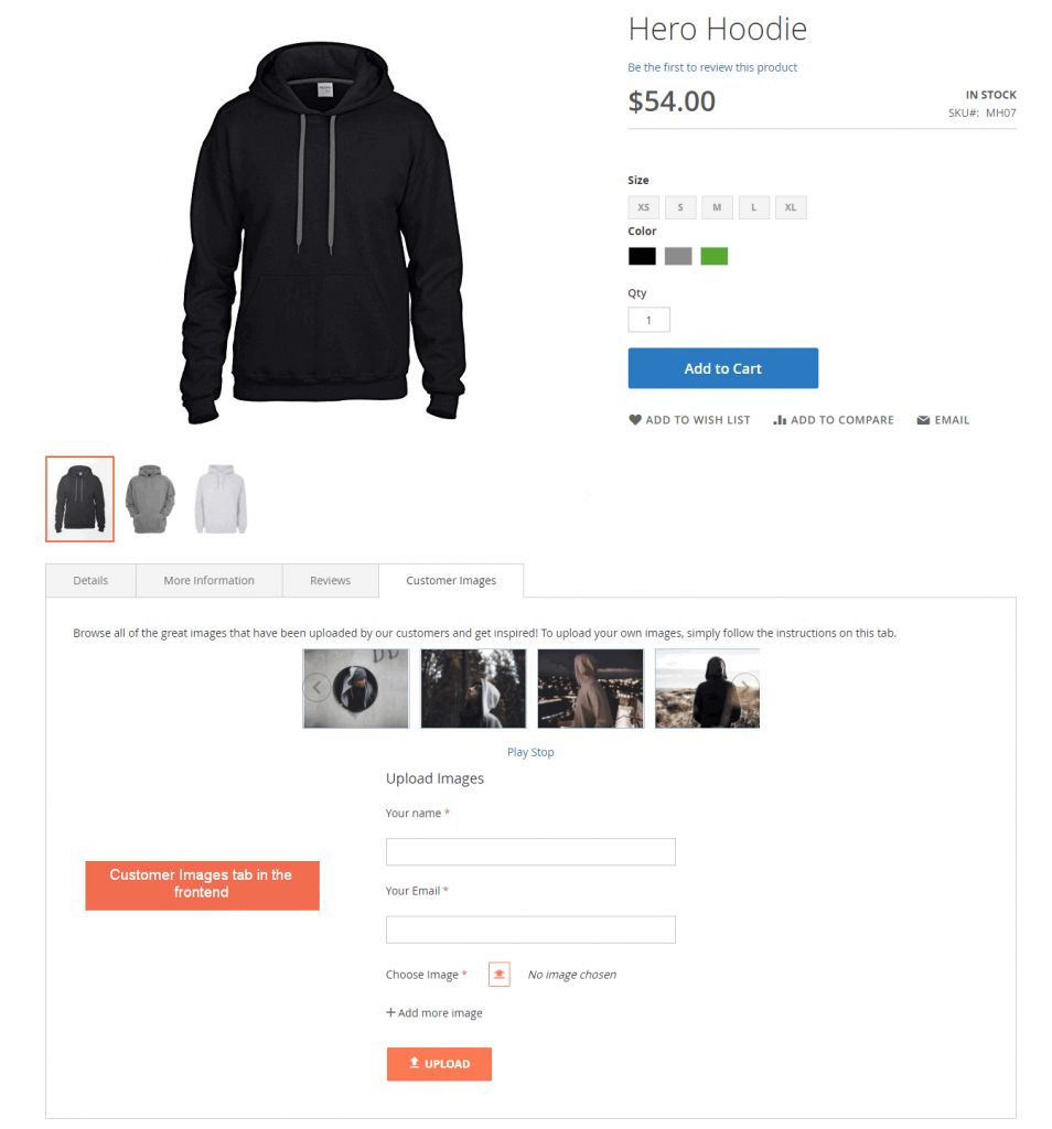 Magento Customer Image Upload Extension BSSCommerce