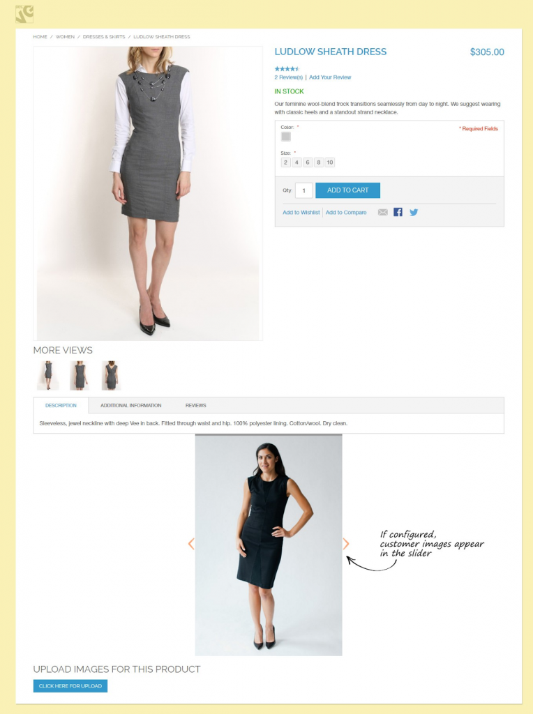 Magento Customer Image Upload Extension BELVG