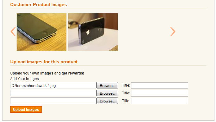 Magento Customer Image Upload Extension Amasty