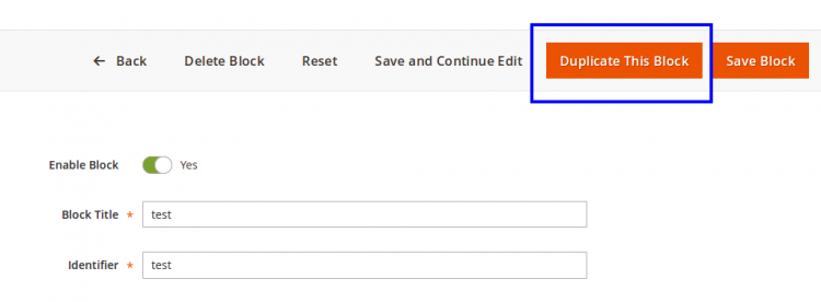 Magento 2 Duplicate CMS Page/Block Shreeji Infosys