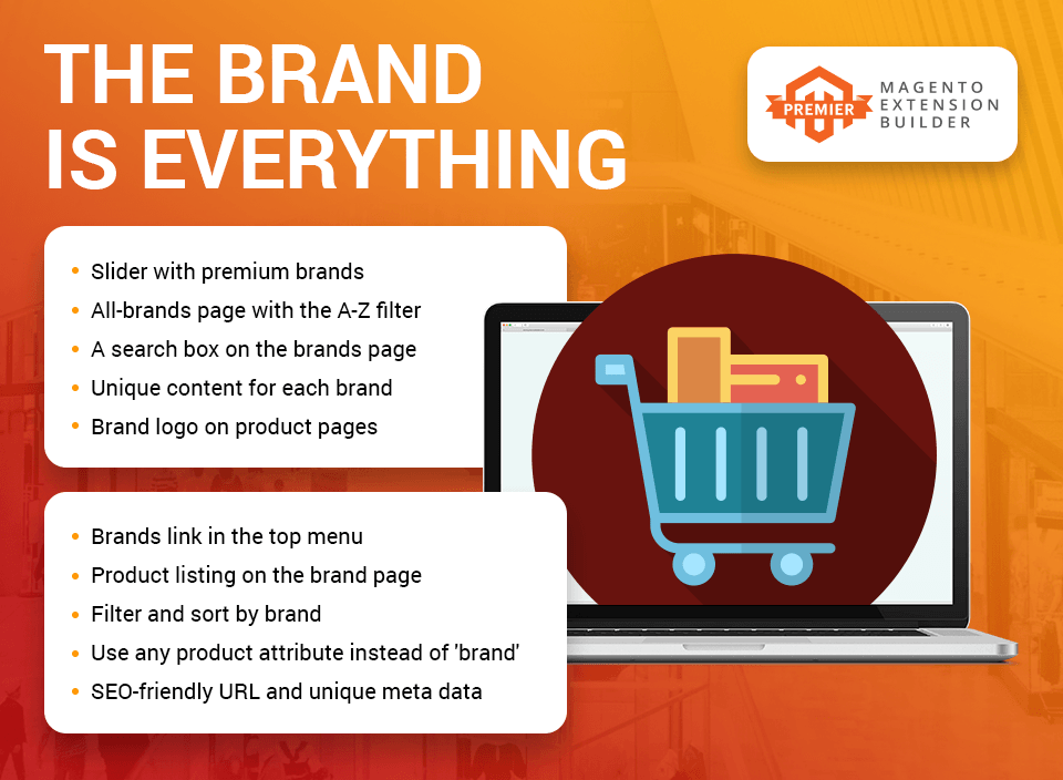 magento 2 shop by brand Amasty