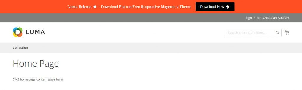 magento 2 promotion bar extension hidden techies