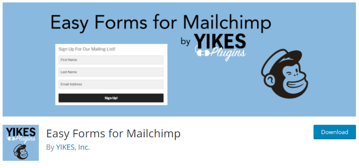 easy-form-mail-chimp