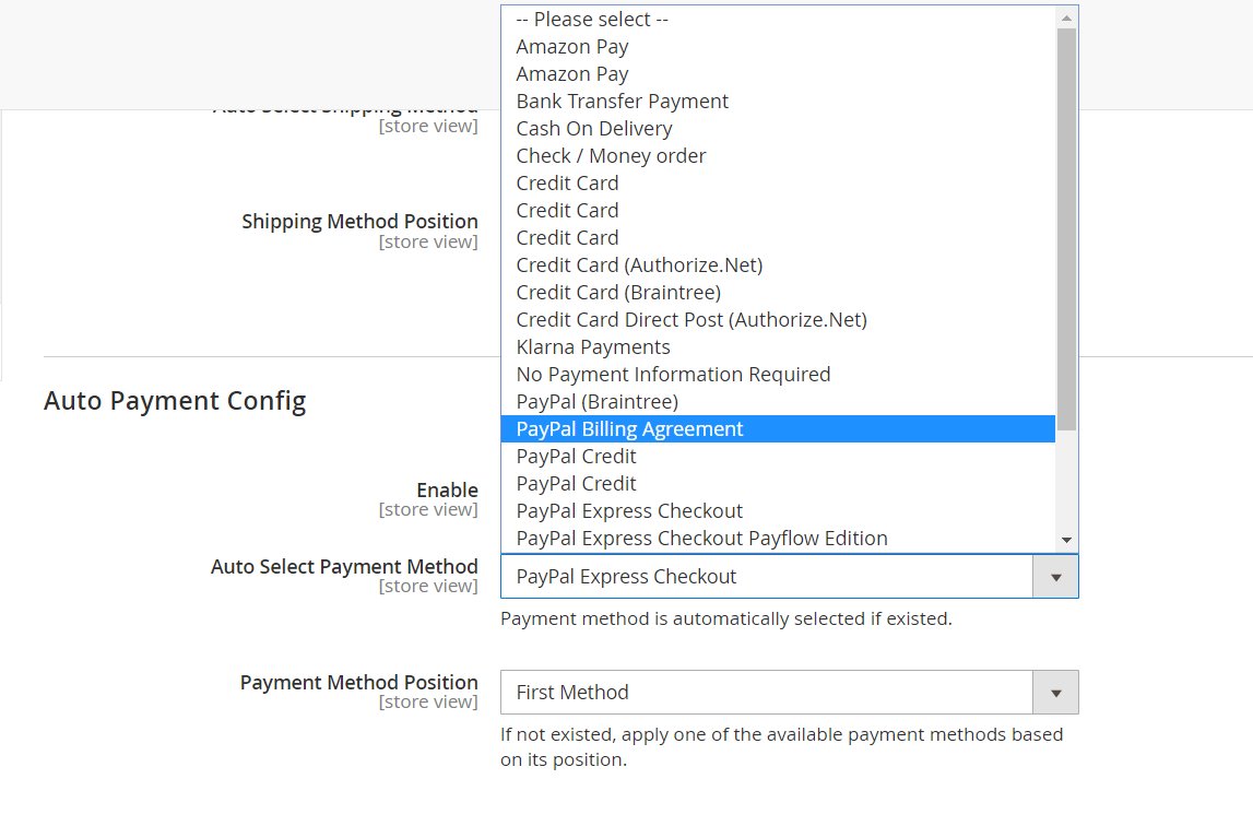 payment-method-configuration
