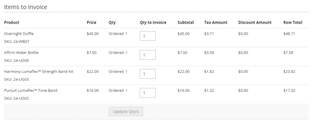 invoice-items-to-invoice