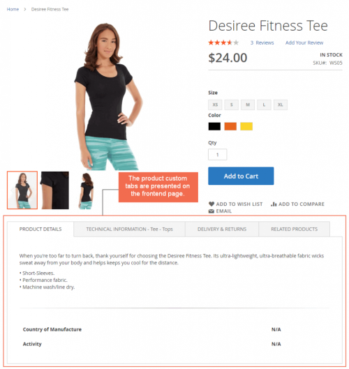 frontent-product-page